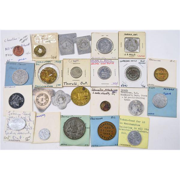 Canadian Trade Token Collection  [136776]