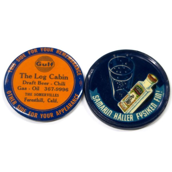 Alcohol Related Advertising Mirrors  [135926]