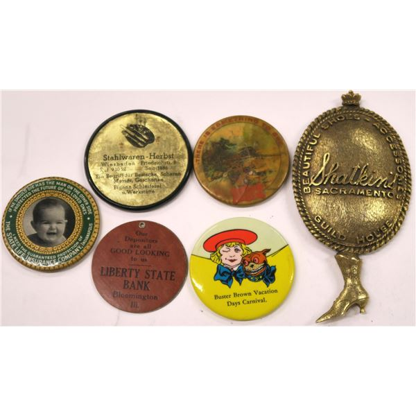 Miscellaneous Lot of Advertising Mirrors  [136367]