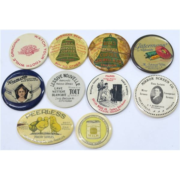 Product Advertising Pocket Mirrors  [136370]