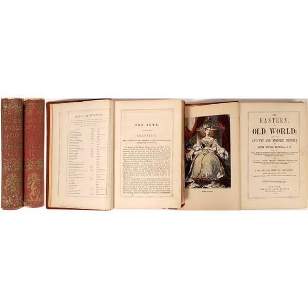 19th Century Ancient World Books Vol. I & II  [135866]