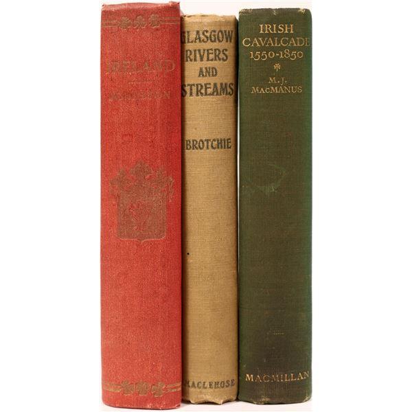 Gaelic Historical Books (3)  [135844]
