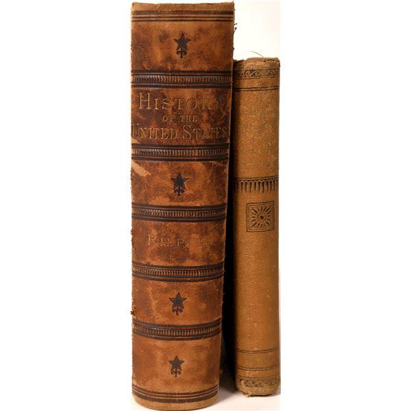 United States History Books Published 1880 & 1885  [136015]
