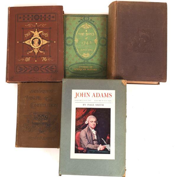 US Constitution Period History Shelf (6)  [136699]