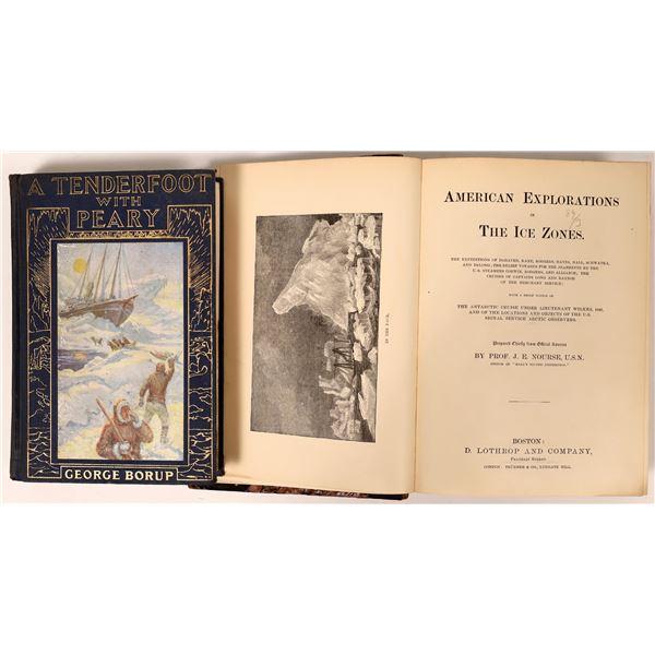 Arctic Exploration Books (2)  [136795]