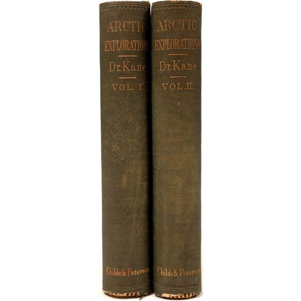 Arctic Explorations Reference: Two Volumes  [135979]