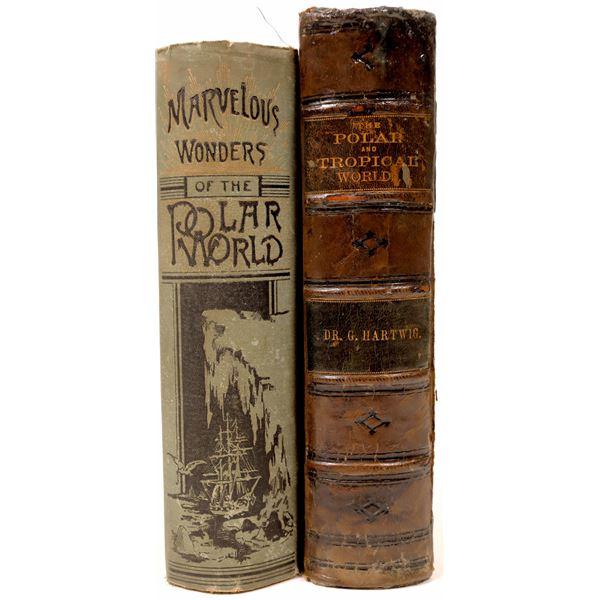 Two 19th Century Arctic Exploration Books  [136796]