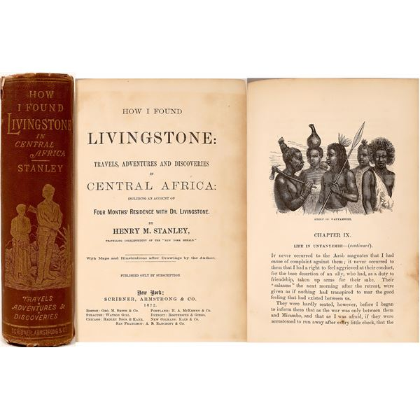 """""""How I Found Livingstone"""" by Henry M. Stanley  [135853]"""
