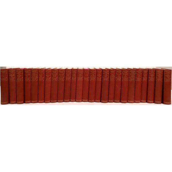 Sam Clemens, Mark Twain Complete Works in 25 Volumes  [136470]