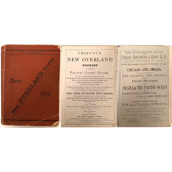 Crofutt's New Overland Tourist and Pacific Coast Guide  [132580]