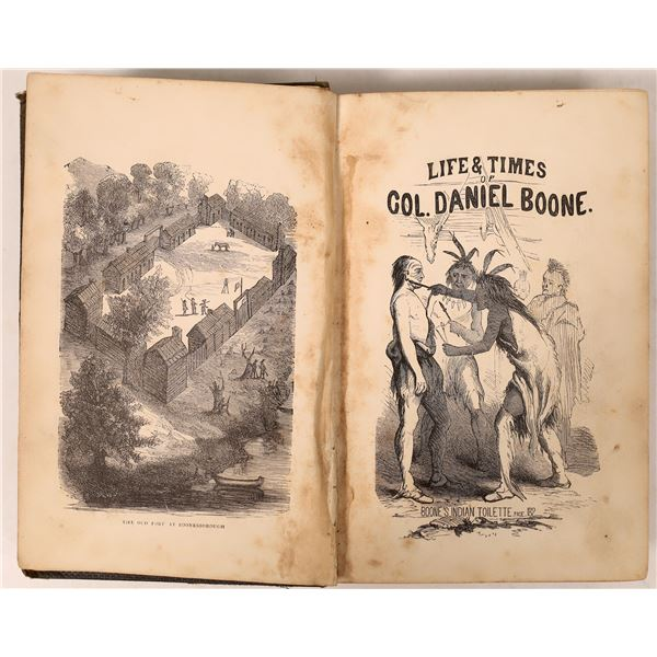 """""""Life & Times of  Col. Daniel Boone""""  [136811]"""