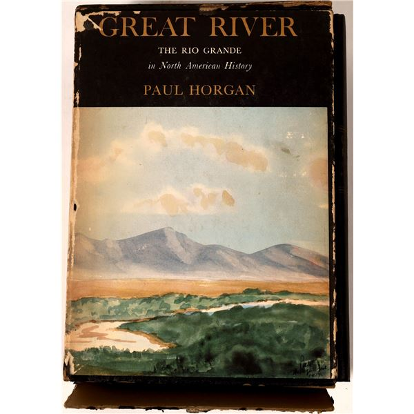 Great River: The Rio Grande in North American History in Two Volumes  [136014]