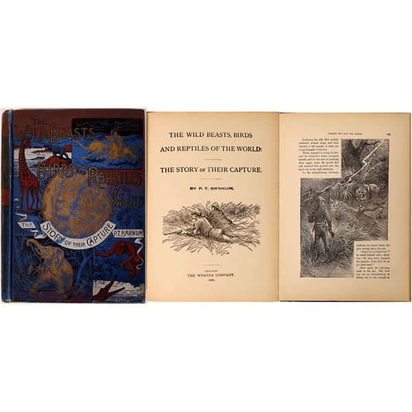 Animals of the World Book by Barnum  [135857]