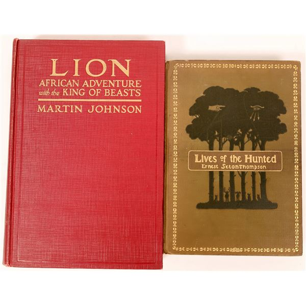 Two Books on Hunting in Africa  [136803]