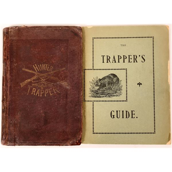 Two Early Trapper Instruction Books  [135983]