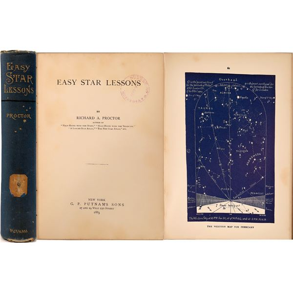 Astronomy Book Used By U.S. Navy  [135986]