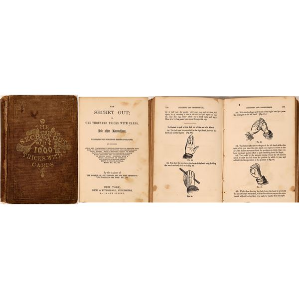 Early Card Trick Book  [135849]