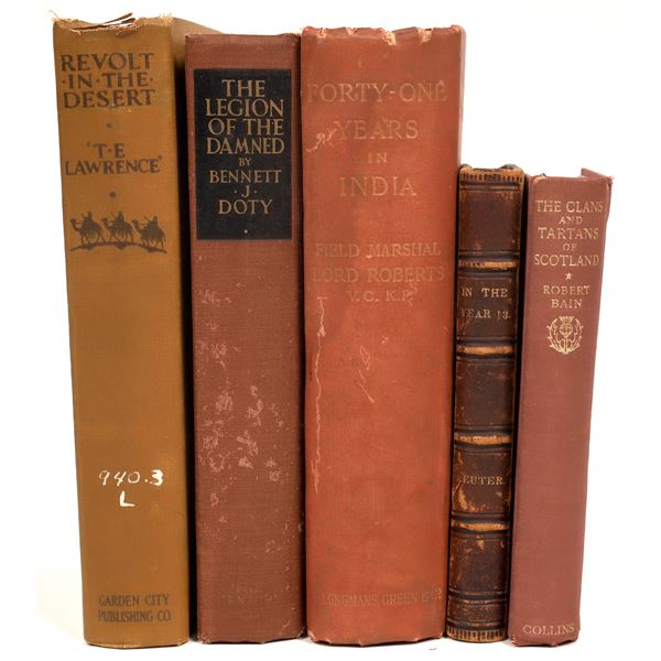 Foreign Literary and History Group (5)  [131857]