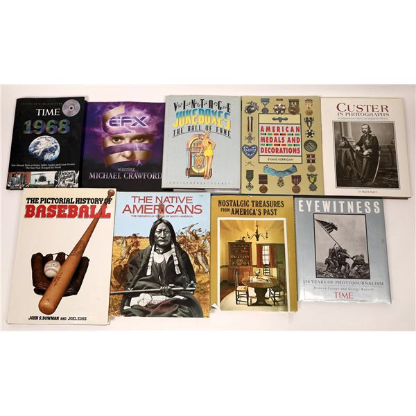 Coffee Table Book Group (9)  [137428]