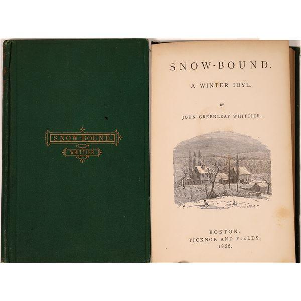Snow-Bound  By John Greenleaf Whittier  [135858]