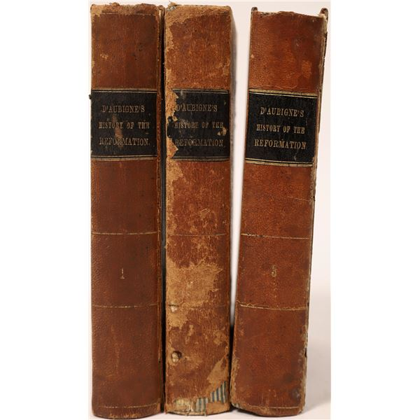 Three Volumes on History of the Reformation  [135865]