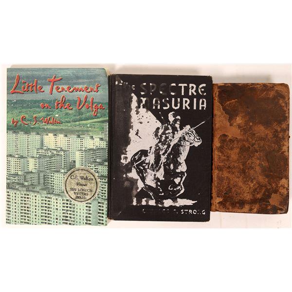 Three Russian Themed Books  [136822]