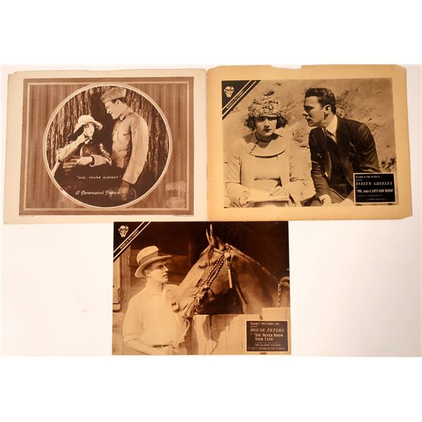 Early Motion Picture Lobby Cards  [136006]