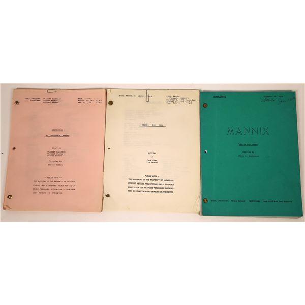 Movie Scripts from Mannix - 3  [135631]