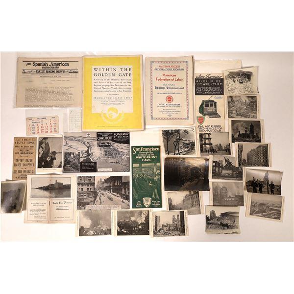 San Francisco Bay Area Ephemera Collection  [135218]