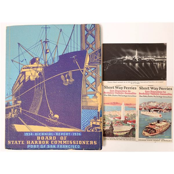Harbors, Ports and Ferries of San Francisco  [136862]