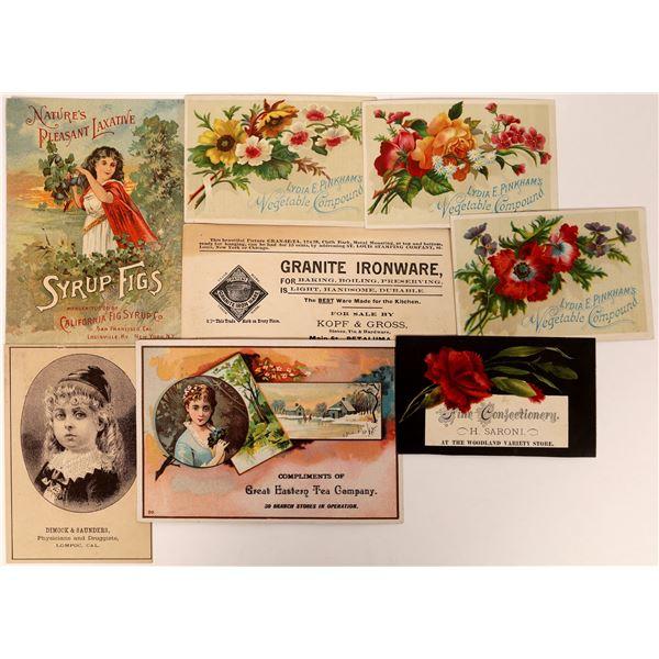 Antique Trade Card Collection  [132589]