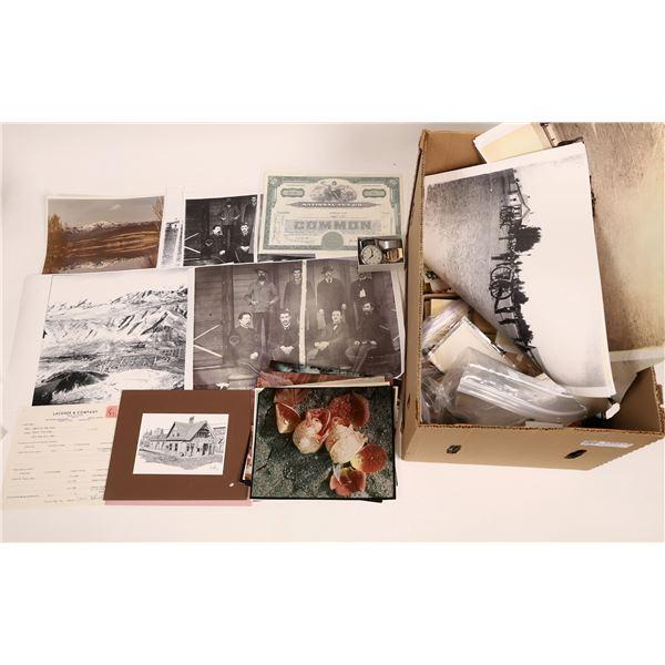 Americana Grab Bag - Photos, Jewelry, Watches, Stocks,...  [136515]