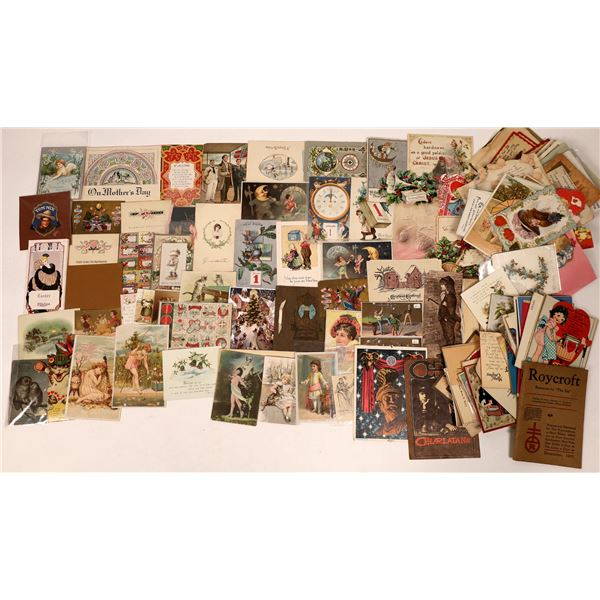 Antique Greeting Cards   [135681]