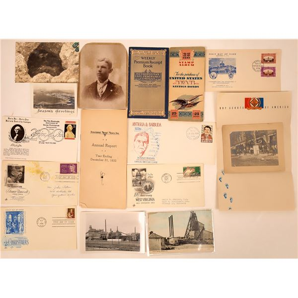 Archive of Americana - 15 pieces  [135628]