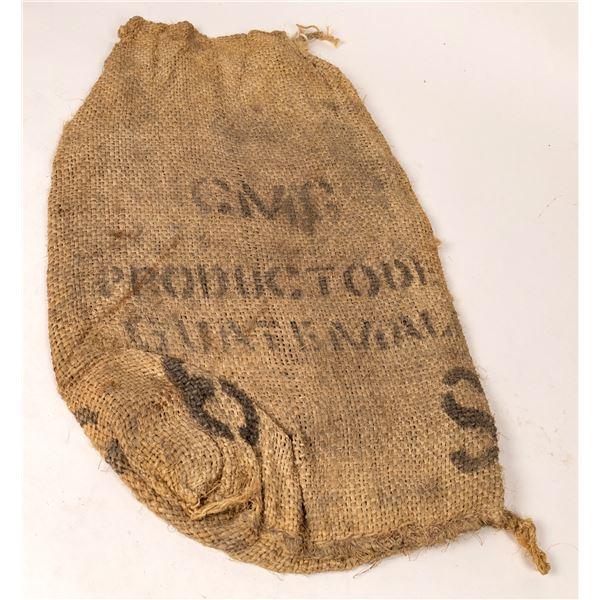 Burlap Bag c1915  [135162]