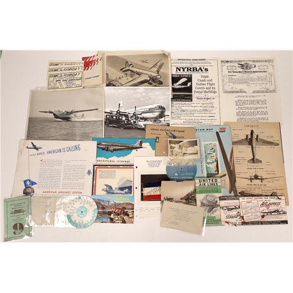 Airline Ephemera  [135122]