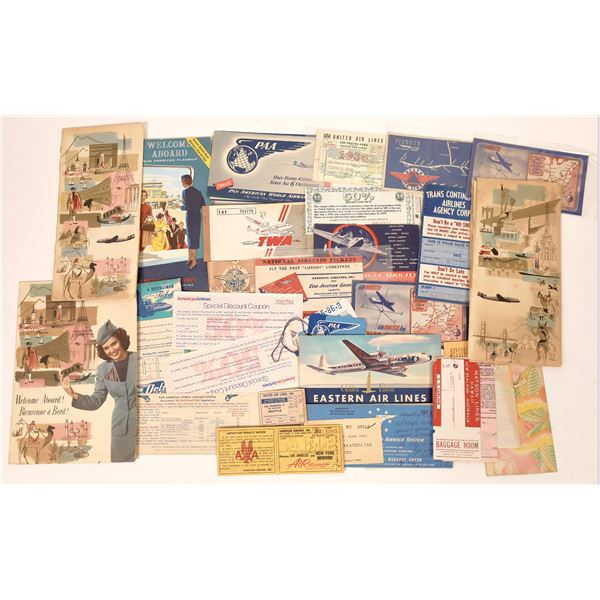 Airline Tickets and Ticket Pamphlets  [135121]