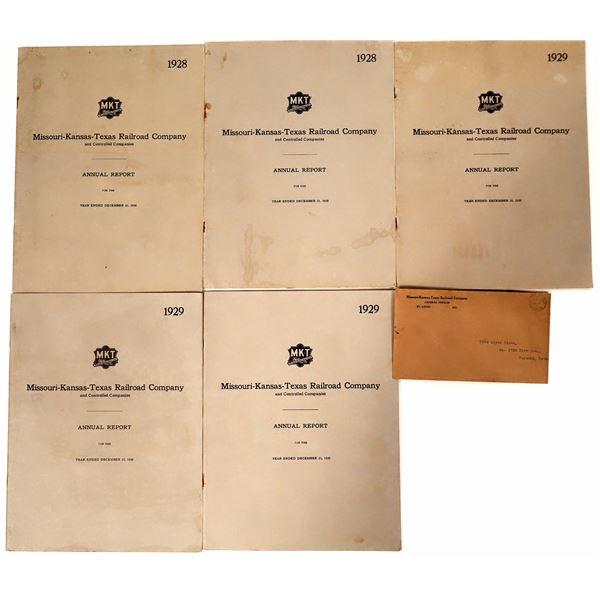 Missouri-Kansas-Texas Railroad Company Annual Reports  [135248]