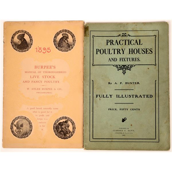 Early Poultry and Stock Catalogs (2)  [137625]