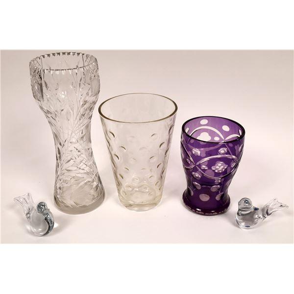 Glass Vases & Antiques  [136717]