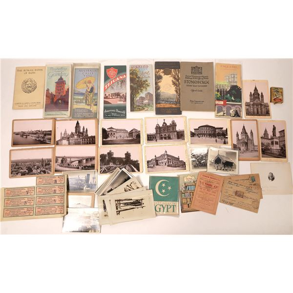 Large European & Foreign Ephemera Collection  [135777]