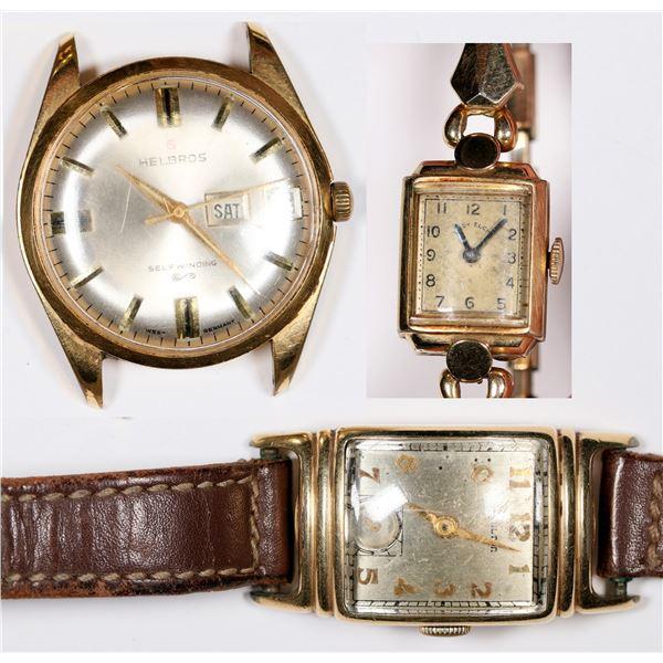 Three Wristwatches  [124115]