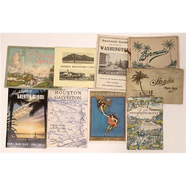 Vintage Tourist Brochures  [135665]
