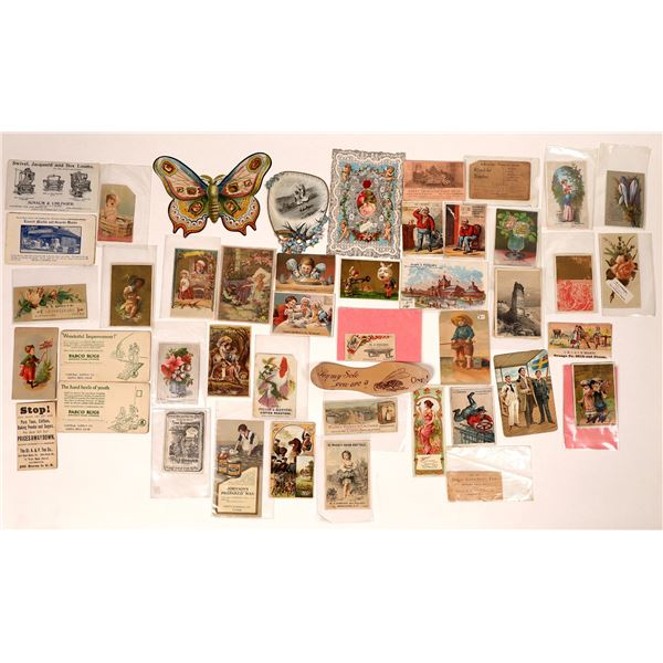 Vintage Trade Card Collection  [132593]