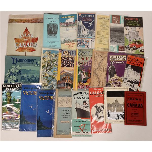 Canadian Tourist Brochure Collection  [132602]