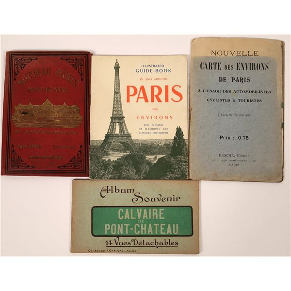French Map Booklets (4)  [137918]