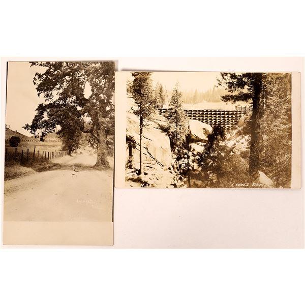 Lyon's Dam (near Auburn) California Postcards - 2  [136053]
