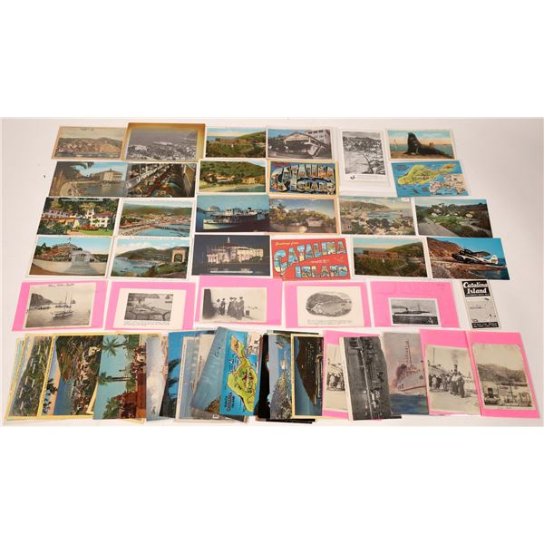 Catalina Island - Modern (approx 53 pieces) Post Card Collection  [137982]