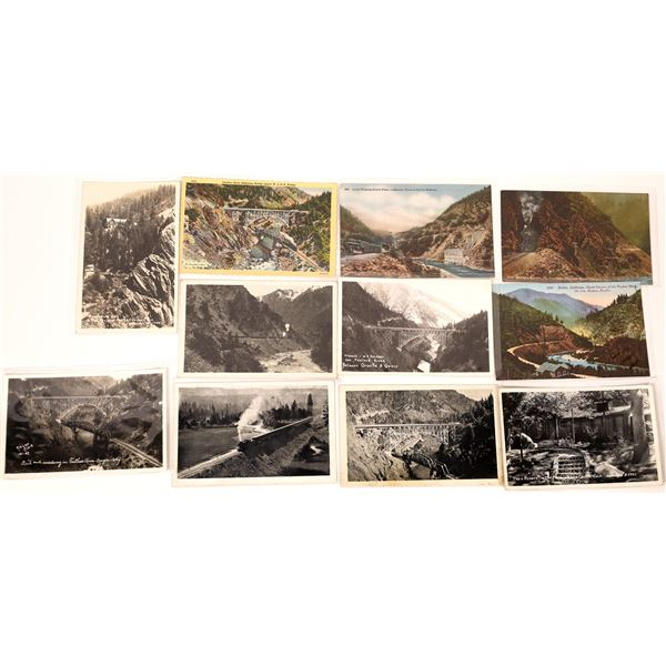 Feather River Canyon & Plumas Co (west) Post Card Collection  [137974]