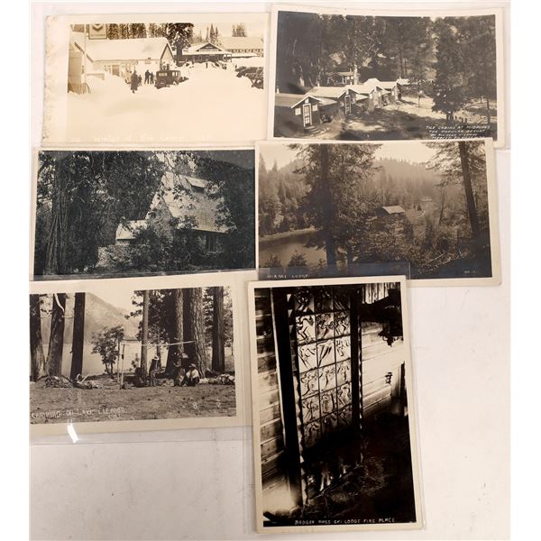 Fish Camp and Surrounding Area RPC Collection (6)  [137874]
